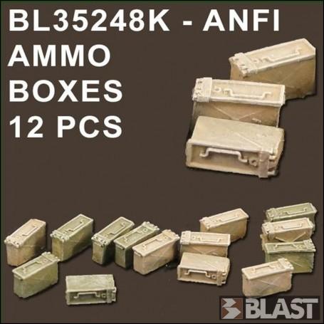 BL35248K - ANF1 AMMO BOXES - 12 PCS