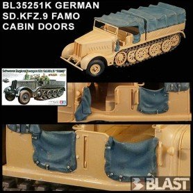 BL35251K - GERMAN SD.KFZ.9 FAMO - CABIN DOORS