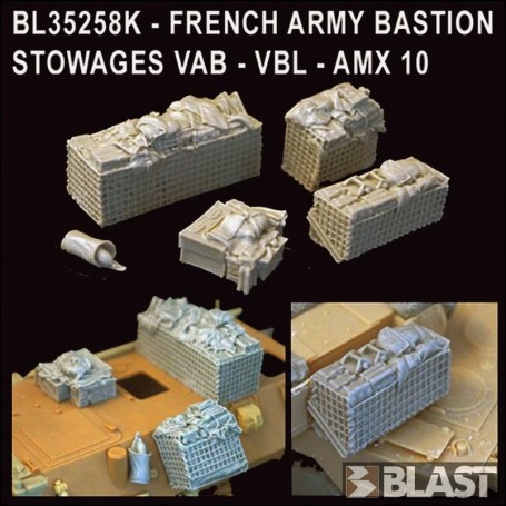 BL35258K - FRENCH MODERN ARMY BASTION STOWAGES VAB-VBL-AMX10