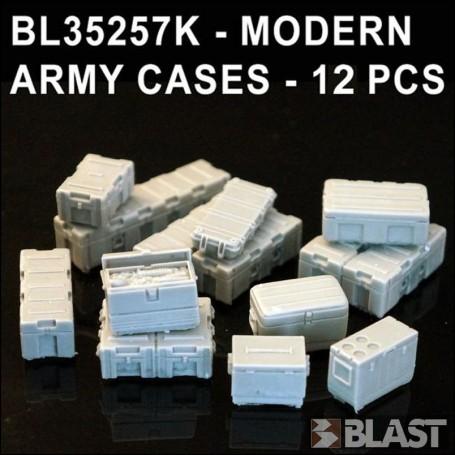 BL35257K - MODERN ARMY CASES - 12 PCS
