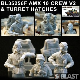 BL35256F - AMX 10 CREW VERSION 2 AND TURRET HATCHES