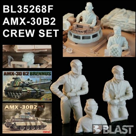 BL35268F - AMX-30 B2 CREW SET
