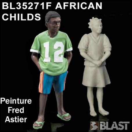 BL35271F - AFRICAN CHILDREN