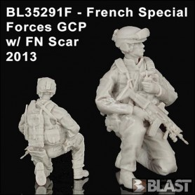 BL35291F - FRENCH SPECIAL FORCES GCP W/ FN SCAR - 2013