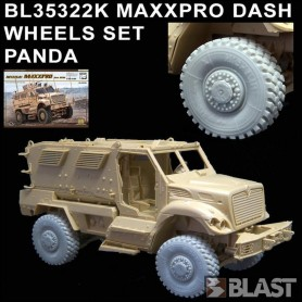 BL35322K - MAXXPRO DASH WHEELS - PANDA