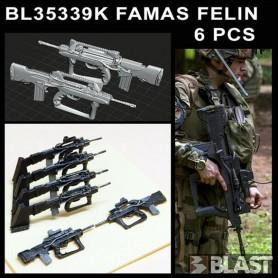 BL35339K - FAMAS FELIN - 6 PCS