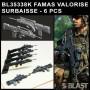 BL35338K - FAMAS VALORISE SURBAISSE - 6 PCS