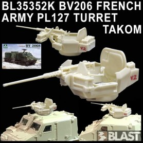 BL35352K - BV206 FRENCH ARMY PL127 TURRET - TAKOM