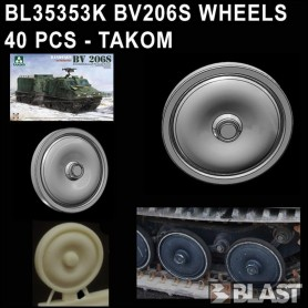 BL35353K - BV206 WHEELS  40 PCS - TAKOM