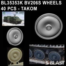 BL35353K - BV206 WHEELS  40 PCS - TAKOM