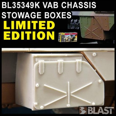 BL35349K - VAB CHASSIS STOWAGE BOXES / LIMITED EDITION