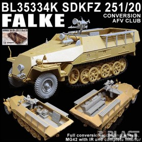 BL35334K - SDKFZ 251 FALKE CONVERSION - AFV CLUB