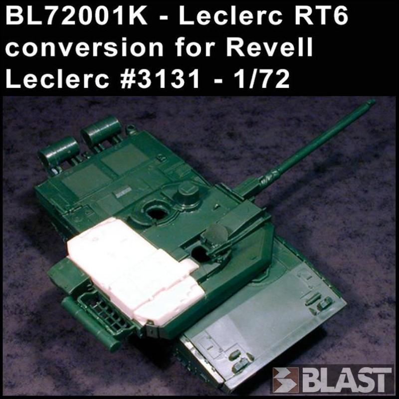 bl72001k conversion leclerc rt6 echelle 1 72 pour kit revell. Black Bedroom Furniture Sets. Home Design Ideas