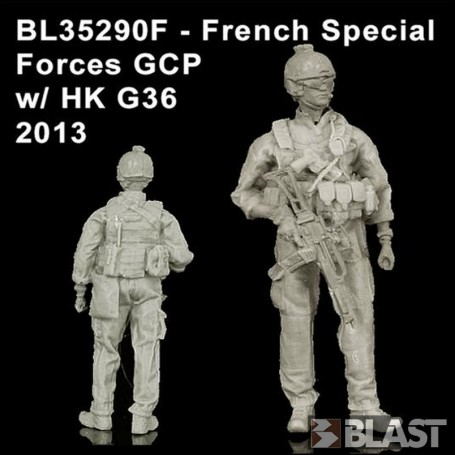 BL35290F - FRENCH SPECIAL FORCES GCP W/  HK G36 - 2013