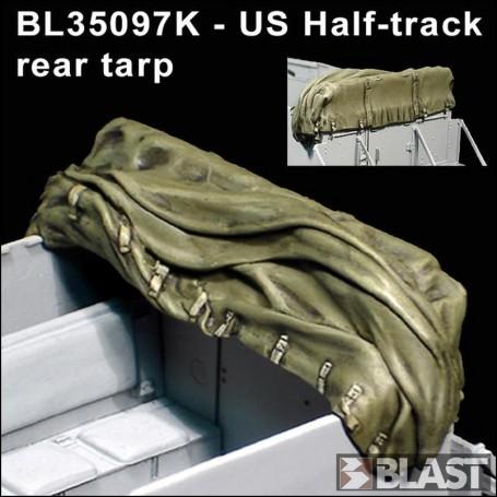BL35097K - US HALF TRACK REAR TARP