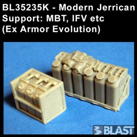 BL35235K - MODERN JERRICAN SUPPORT MBT AND IFV (EX AE)