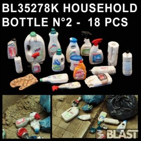 BL35278K - HOUSEHOLD BOTTLE N2 - 18 PCS