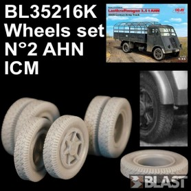 BL35216K - WHEELS SET N2 FOR AHN - ICM
