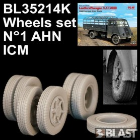 BL35214K - WHEELS SET N1 FOR AHN - ICM
