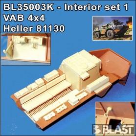 BL35003K - INTERIOR FOR VAB 4X4 SET N1 CREW- EDITION 03/2021