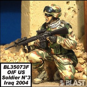 BL35073F - US SOLDIER OIF N3 IRAQ 2004*