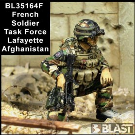 BL35164F - FRENCH SOLDIER N2 TASK FORCE LAFAYETTE - AFGHANISTAN*