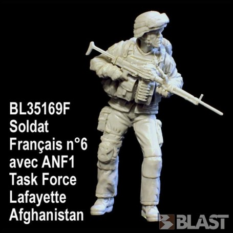 BL35169F - SOLDAT FRANCAIS N6 AVEC ANF1 - TASK FORCE LAFAYETTE - AFGHANISTAN*