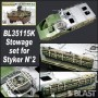 BL35115K - STOWAGE SET N2 FOR STRYKER - AFV CLUB