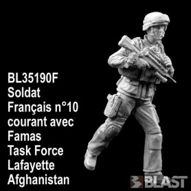 BL35190F - SOLDAT FRANCAIS N10 COURANT - TASK FORCE LAFAYETTE - AFGHANISTAN