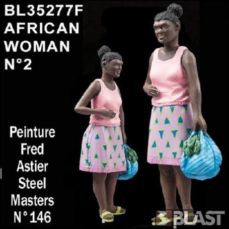 BL35277F - AFRICAN WOMAN N2