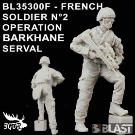 BL35300F - FRENCH SOLDIER N2 OPERATION BARKHANE / SERVAL