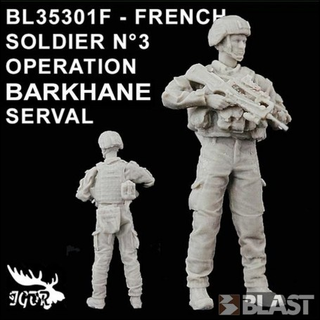 BL35301F - FRENCH SOLDIER N3 OPERATION BARKHANE / SERVAL