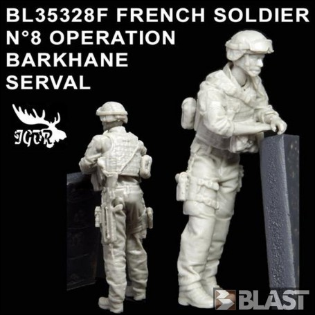 BL35328F - FRENCH SOLDIER N8 OPERATION BARKHANE / SERVAL