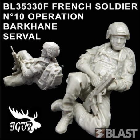 BL35330F - FRENCH SOLDIER N10 OPERATION BARKHANE / SERVAL