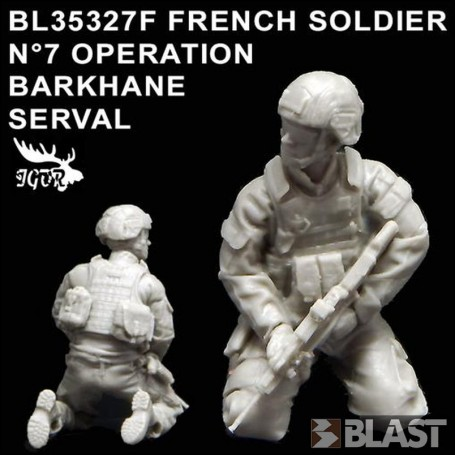 BL35327F - FRENCH SOLDIER N7 OPERATION BARKHANE / SERVAL
