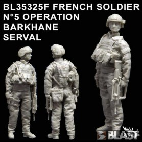 BL35325F - FRENCH SOLDIER N5 OPERATION BARKHANE / SERVAL