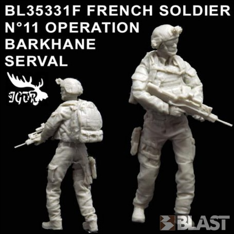 BL35331F - FRENCH SOLDIER N11 OPERATION BARKHANE / SERVAL