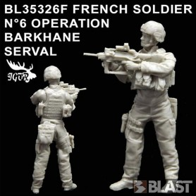 BL35326F - FRENCH SOLDIER N6 OPERATION BARKHANE / SERVAL