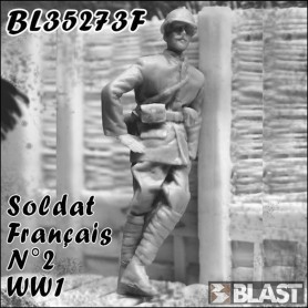 BL35273F - SOLDAT FRANCAIS N2 - WWI