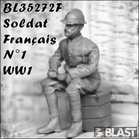 BL35272F - SOLDAT FRANCAIS N1 - WWI