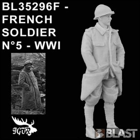 BL35296F - SOLDAT FRANCAIS N5 - WWI