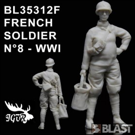 BL35312F - FRENCH SOLDIER N8 WWI