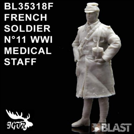 BL35318F - FRENCH SOLDIER N11 WWI - INFIRMIER