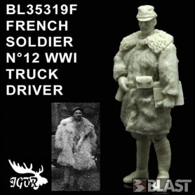 BL35319F - FRENCH SOLDIER N12 WWI - CONDUCTEUR DE CAMION