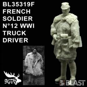 BL35319F - FRENCH SOLDIER N12 WWI - CONDUCTEUR DE CAMION