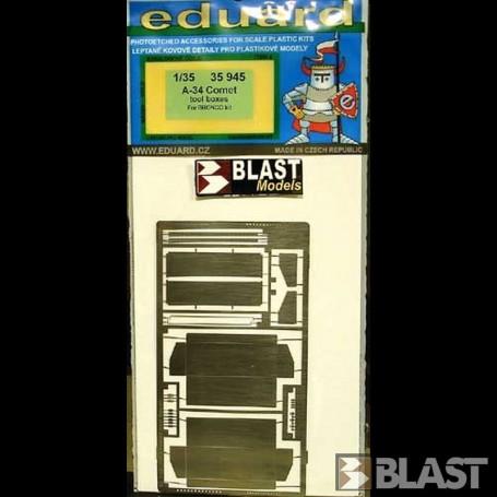 EDU35945 - A-34 COMET TOOL BOXES - BRONCO