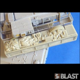 BL35234K - M1 ABRAMS REAR STOWAGE RACK - (EX AE)