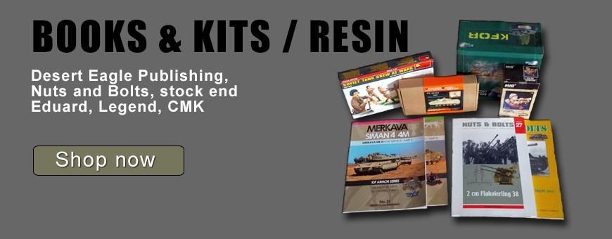BOOKS & KITS / RESIN