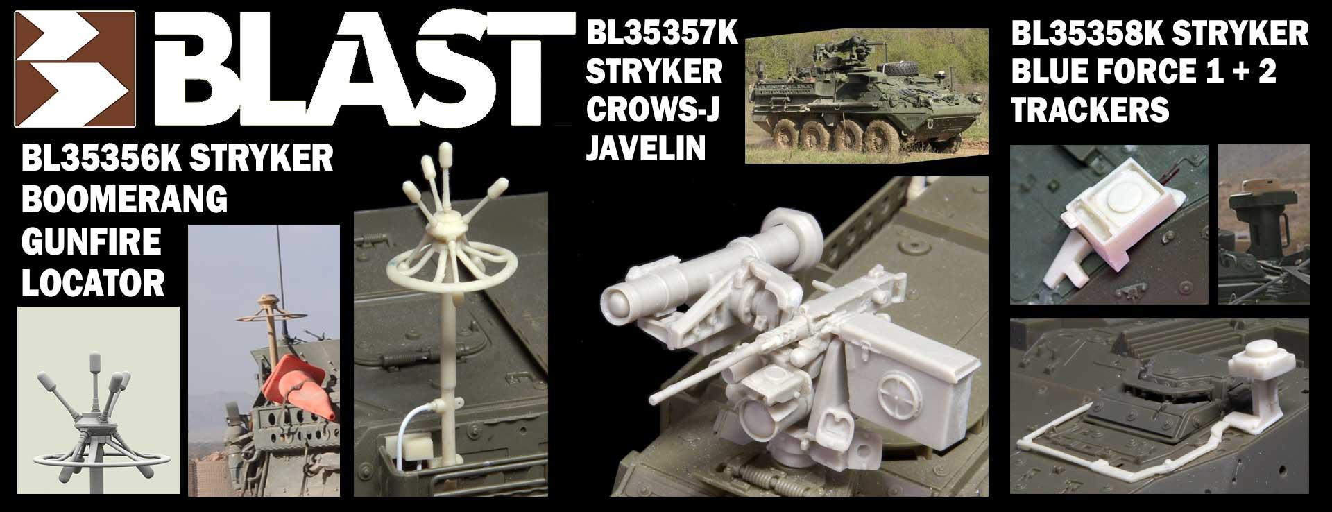 Stryker sets BL35356K BL35357K BL35358K