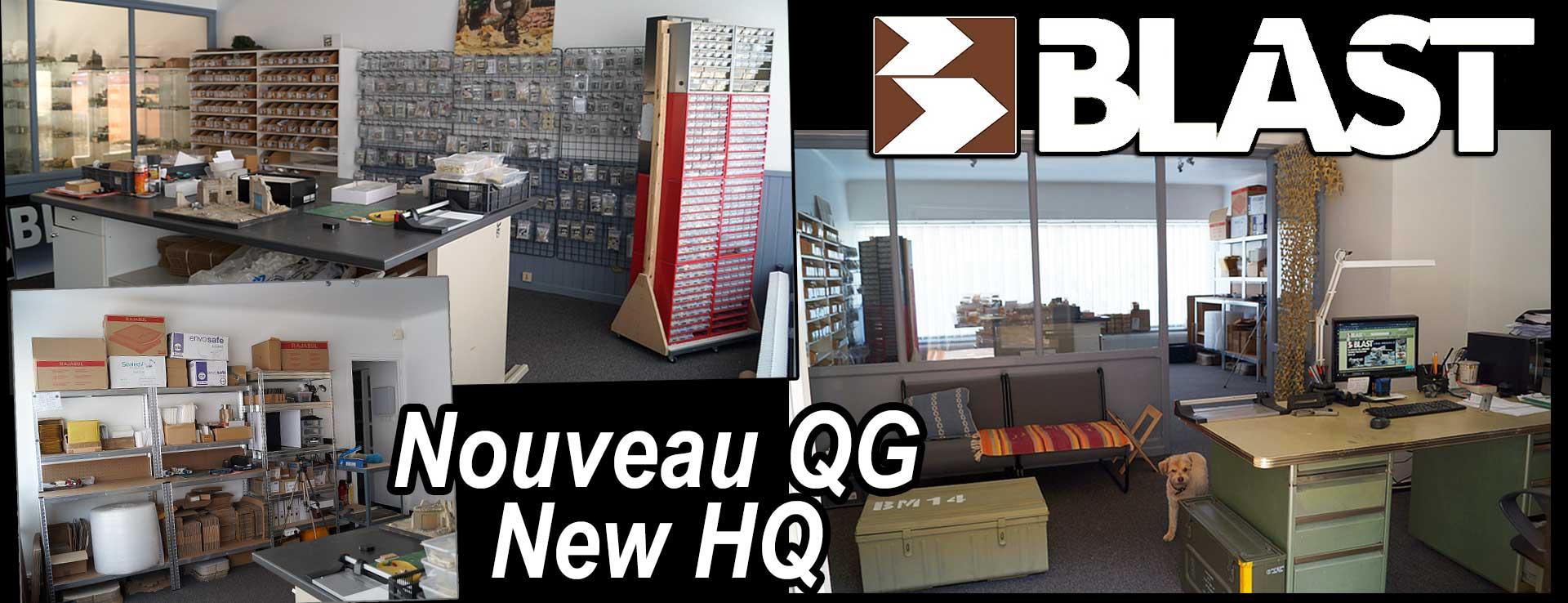 Nouveau QG - new HQ